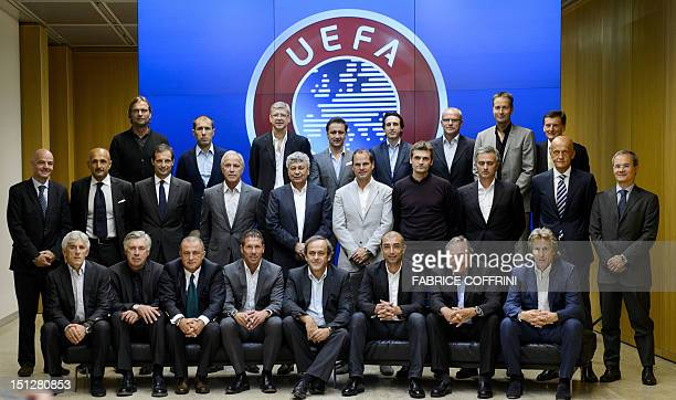 Apoel FC coach Ivan Jovanovic Paris SaintGermain coach Carlo Ancelotti Galatasaray coach Fatih Terim Club Atletico de Madrid coach Diego Simeone UEFA...