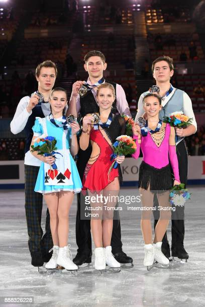 Apollinariia Panfilova and Dmitry Rylov of Russia Ekaterina Alexandrovskaya and Harley Windsor of Australia and Daria Pavliuchenko and Denis Khodykin...