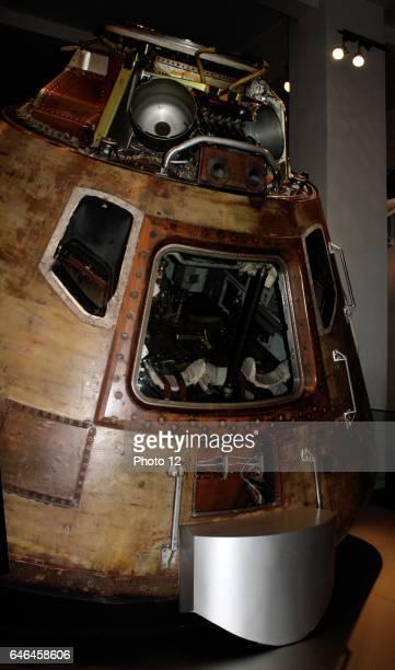 Apollo 10 Command Module Circa 1969 The capsule in which astronauts Tom Stafford John Young and Gene Cernan travelled around the moon in 1969 Apollo...