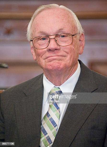 Apollo 11 astronaut Neil Armstrong is introsduced during the tribute event to the Apollo 11 astronauts celebrating the 40th anniversary of the first...