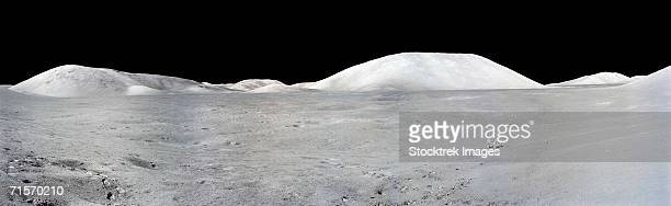 Apollo 17 Panorama of the moon.