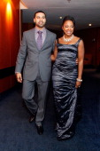 Apollo Nida and Real Housewives of Atlanta cast member Phaedra Parks attend the Captain Planet Foundation Annual benefit gala at the Georgia Aquarium...