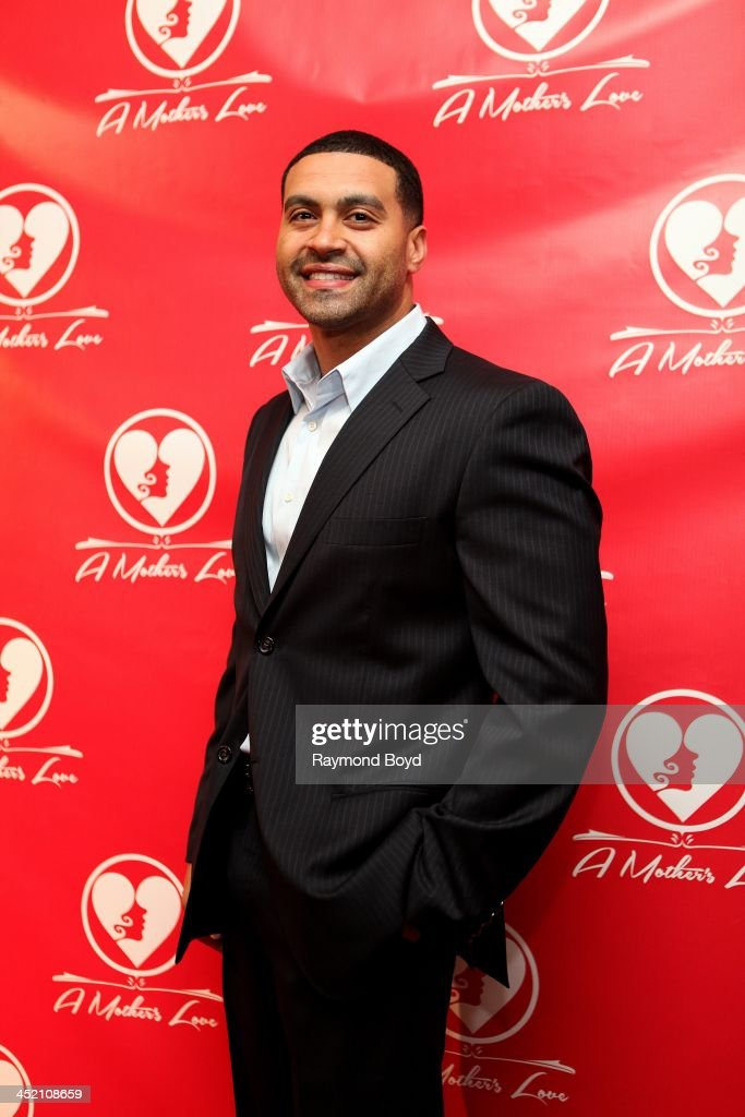 Apollo Nida from Bravo's 'Real Housewives Of Atlanta', poses for red carpet photos for 'A Mother's Love' stage play at the Rialto Center For The Arts in Atlanta, Georgia on NOVEMBER