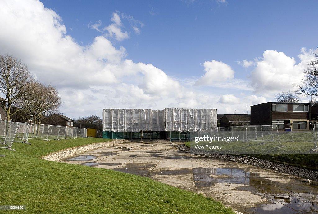 Apollo Pavilion, Sunny Blunts, Peterlee, Durham, United Kingdom, Architect: Victor Pasmore, 1970, Apollo Pavilion Peterlee