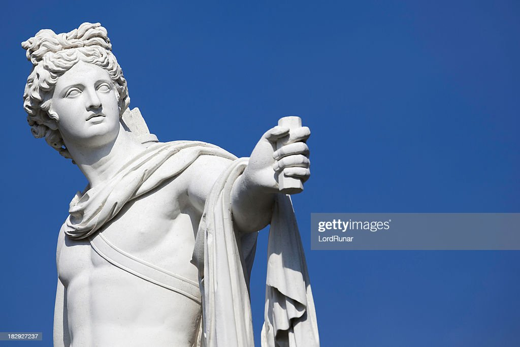 Statua di Apollo : Foto stock