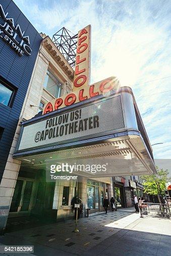 Apollo Theater in Harlem, at Sunrise