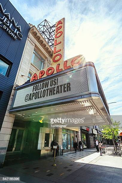 Apollo Theater in Harlem, im Sonnenaufgang