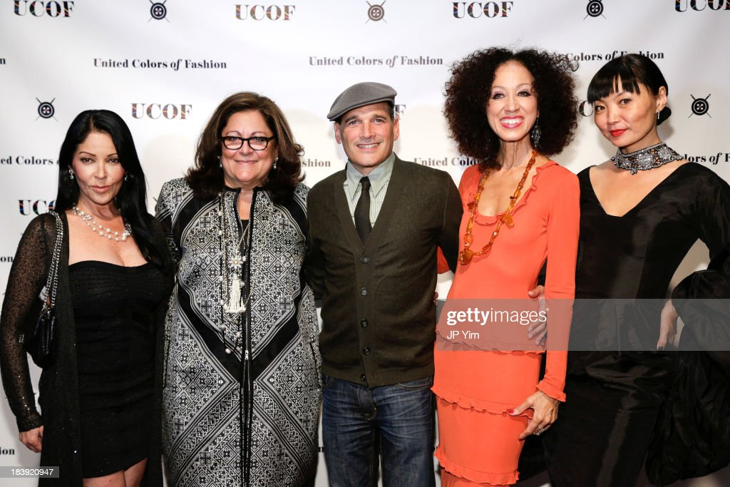 <a gi-track='captionPersonalityLinkClicked' href=/galleries/search?phrase=Apollonia+Kotero&family=editorial&specificpeople=220563 ng-click='$event.stopPropagation()'>Apollonia Kotero</a>, <a gi-track='captionPersonalityLinkClicked' href=/galleries/search?phrase=Fern+Mallis&family=editorial&specificpeople=201774 ng-click='$event.stopPropagation()'>Fern Mallis</a>, <a gi-track='captionPersonalityLinkClicked' href=/galleries/search?phrase=Phillip+Bloch&family=editorial&specificpeople=204171 ng-click='$event.stopPropagation()'>Phillip Bloch</a>, <a gi-track='captionPersonalityLinkClicked' href=/galleries/search?phrase=Pat+Cleveland+-+Model&family=editorial&specificpeople=592076 ng-click='$event.stopPropagation()'>Pat Cleveland</a> and <a gi-track='captionPersonalityLinkClicked' href=/galleries/search?phrase=Irina+Pantaeva&family=editorial&specificpeople=204164 ng-click='$event.stopPropagation()'>Irina Pantaeva</a> attend the 3rd Annual United Colors Of Fashion Gala at Lexington Avenue Armory on October 9, 2013 in New York City.