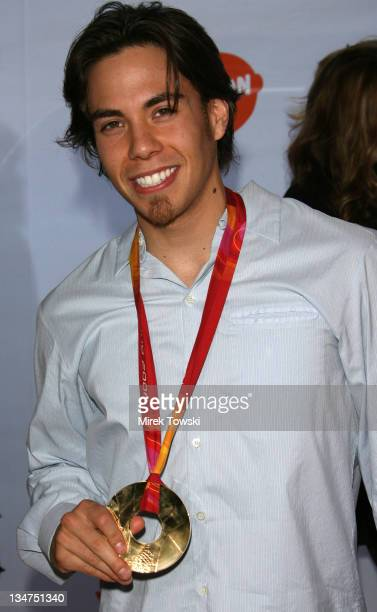 Apolo Anton Ohno during Nickelodeon's 19th Annual Kids' Choice Awards Arrivals at Pauley Pavilion in Westwood CA United States