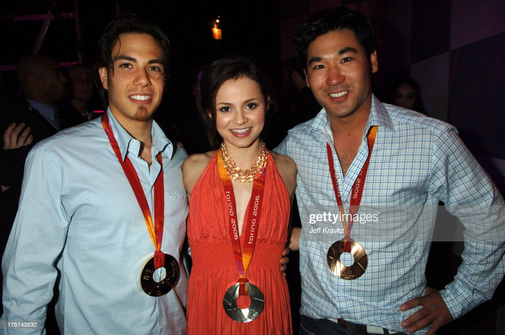<a gi-track='captionPersonalityLinkClicked' href=/galleries/search?phrase=Apolo+Anton+Ohno&family=editorial&specificpeople=213110 ng-click='$event.stopPropagation()'>Apolo Anton Ohno</a>, <a gi-track='captionPersonalityLinkClicked' href=/galleries/search?phrase=Sasha+Cohen+-+Figure+Skater&family=editorial&specificpeople=171109 ng-click='$event.stopPropagation()'>Sasha Cohen</a> and <a gi-track='captionPersonalityLinkClicked' href=/galleries/search?phrase=Toby+Dawson&family=editorial&specificpeople=709127 ng-click='$event.stopPropagation()'>Toby Dawson</a>*exclusive*