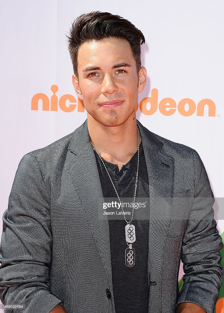 Apolo Ohno attends the 2014 Nickelodeon Kids' Choice Sports Awards at Pauley Pavilion on July 17, 2014 in Los Angeles, California.