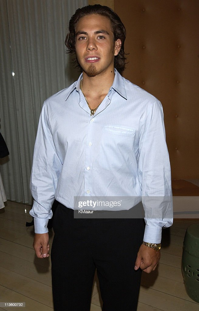 Apolo Ohno during 2002 ESPY Awards - Kick-Off Party Featuring The ESPY Collection at Sky Bar At The Mondrian Hotel in West Hollywood, California, United States.