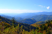 Shot of the Smokey Mountains.