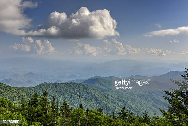 Appalachian Mountains in Great Smoky Mountains National Park