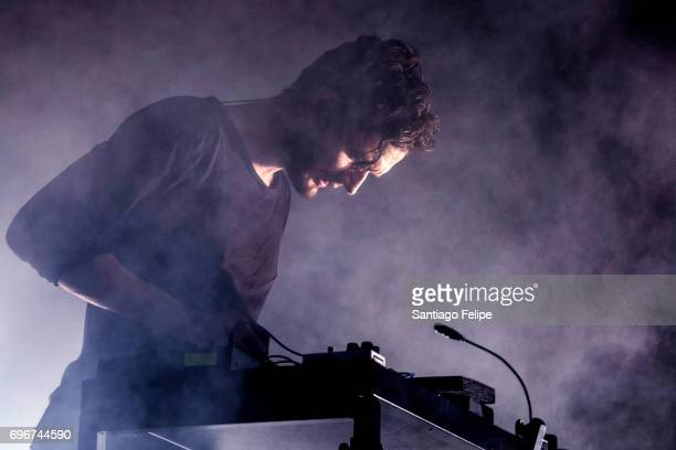 Apparat of Moderat performs onstage during Sonar Festival 2017 on June 16 2017 in Barcelona Spain