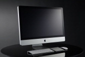 Apple 215inch iMac with Magic Trackpad taken on August 28 2010