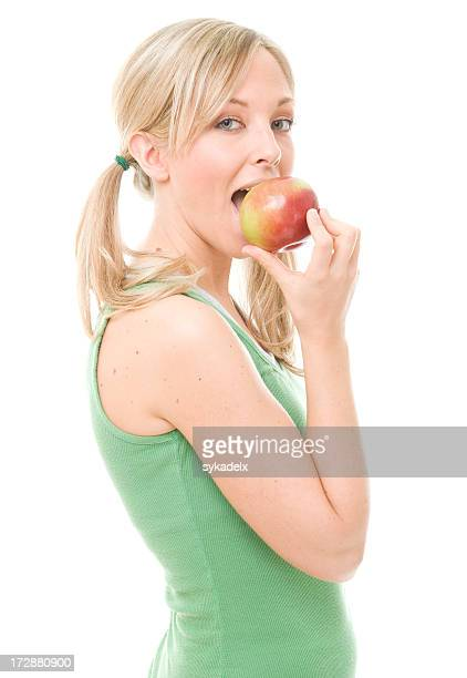 Apple a  day eating