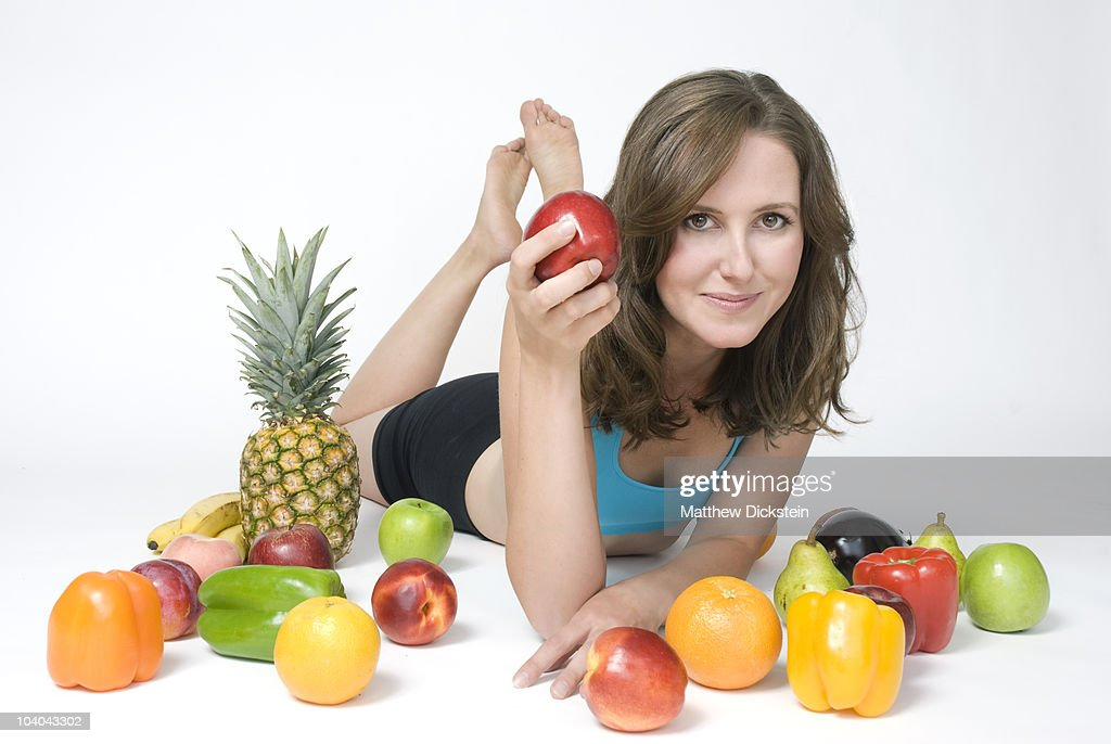Apple a day : Stock Photo