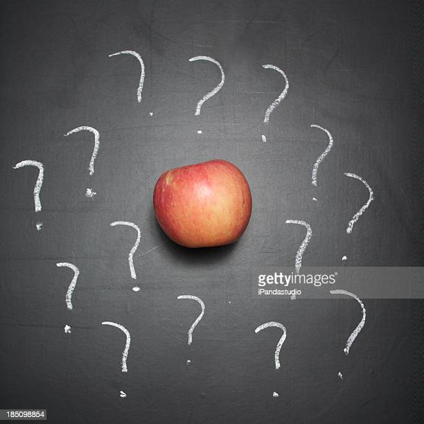 Apple and question marks