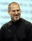 Apple CEO Steve Jobs delivers a kenote address October 16 2003 in San Francisco Jobs announced the popular iTunes music program would now be able to...