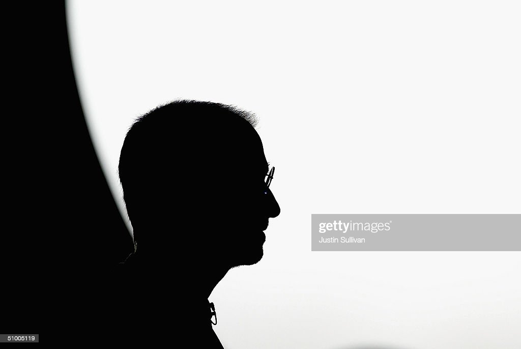 Apple CEO <a gi-track='captionPersonalityLinkClicked' href=/galleries/search?phrase=Steve+Jobs&family=editorial&specificpeople=204493 ng-click='$event.stopPropagation()'>Steve Jobs</a> delivers the keynote address at the 2004 Worldwide Developers Conference June 28, 2004 in San Francisco, California. Jobs announced the 2005 release of OSX Tiger and a new line of flat panel cinema displays including the first 30-inch model designed for the personal computer.