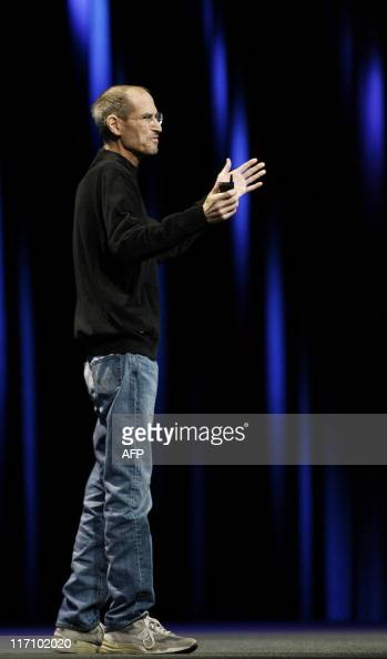 Apple CEO Steve Jobs introduces Apple's next generation computer operating system Mac OS X Lion the mobile operating system iOS 5 and the internet...