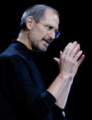 Apple CEO Steve Jobs speaks during an Apple Special event September 5 2007 in San Francisco California Jobs announced a new generation of iPods