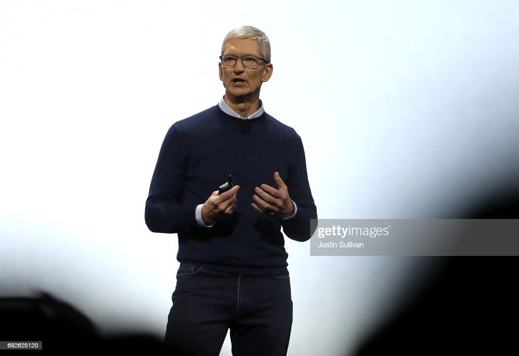 CEO Tim Cook Delivers Keynote At Apple Worldwide Developers Conference