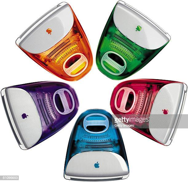 Apple Computer Inc Intensified Its Challenge To Conventional Computer Design January 5 1999 By Unveiling Five Bright New Colors For Its...