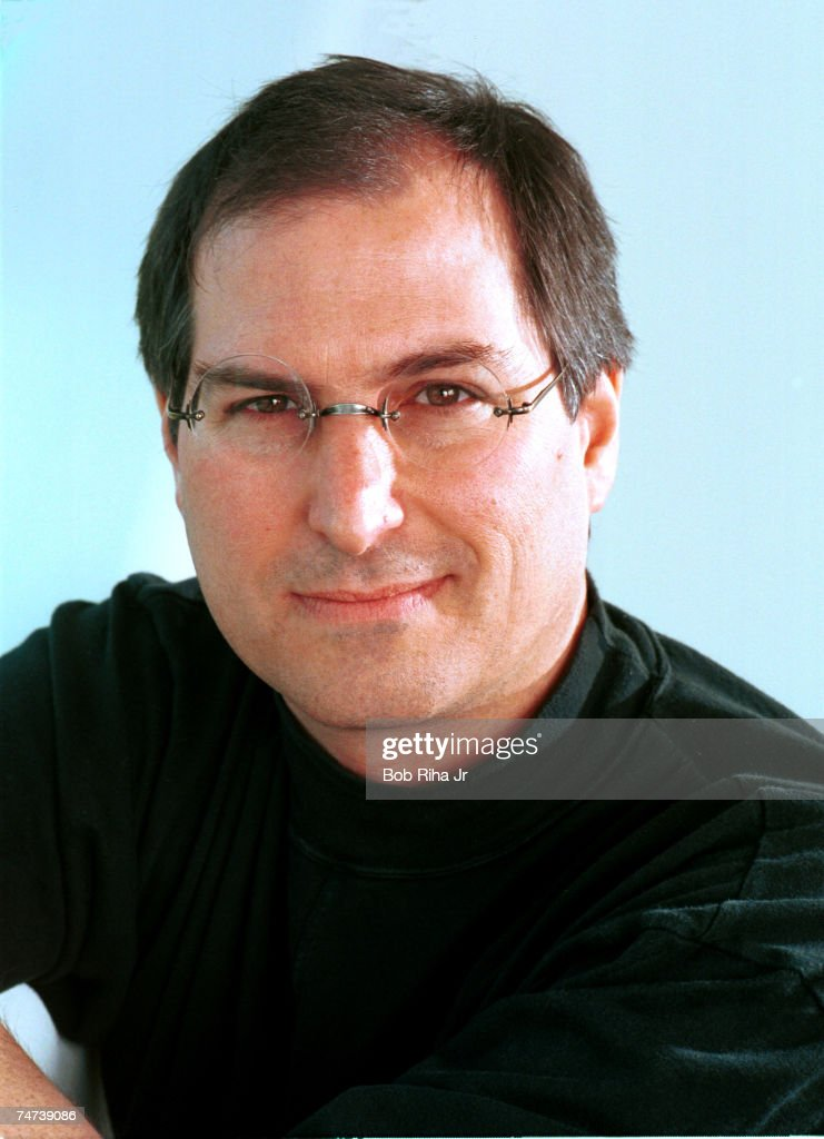 Apple Computers CEO <a gi-track='captionPersonalityLinkClicked' href=/galleries/search?phrase=Steve+Jobs&family=editorial&specificpeople=204493 ng-click='$event.stopPropagation()'>Steve Jobs</a> in Redwood, California