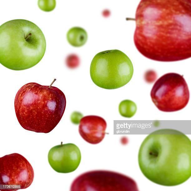 Explosion de pomme