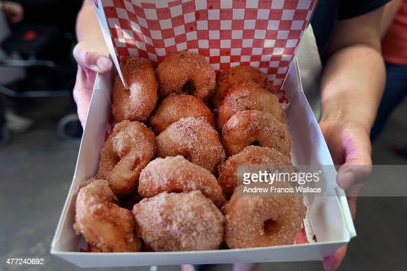 Apple fritters from The Fritter Co at St Jacobs Farmers' Market June ...
