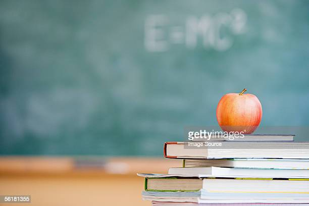 Apple in a classroom
