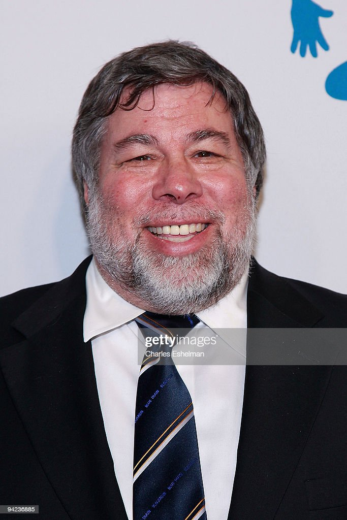 Apple Inc. co-founder Steve Wozniak attends the AOL Spin Party at the New York Stock Exchange on December 9, 2009 in New York City.