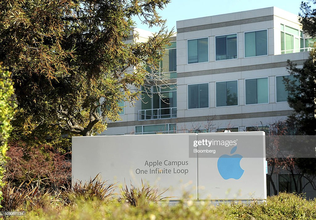 Apple Inc's headquarters stands in Cupertino California US on Tuesday Feb 22 2011 Apple Inc's board faces a showdown with investor groups tomorrow...