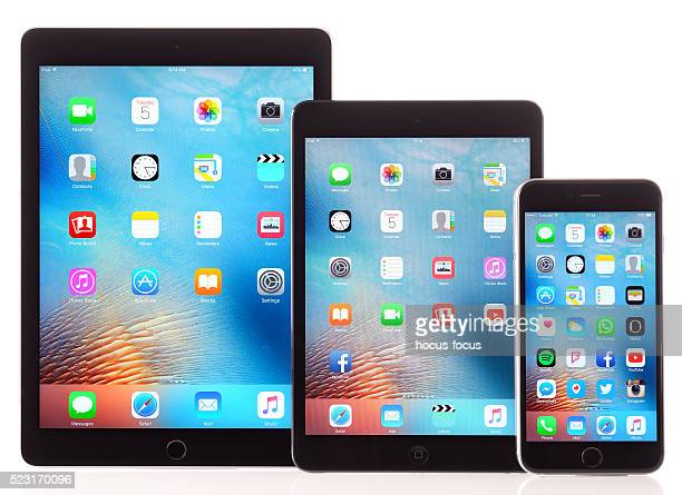 Apple iPad Air, Mini and iPhone 6 Plus