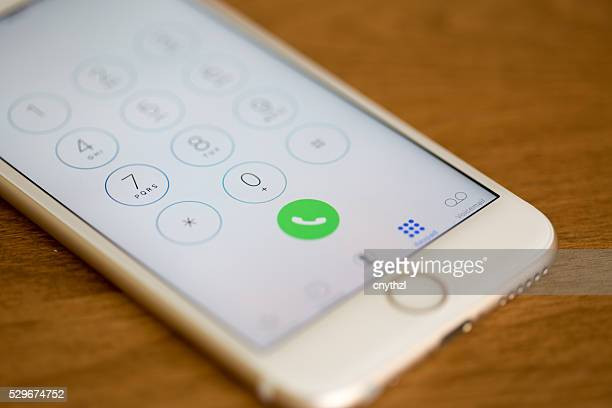 Apple iPhone 6 Jahren Dialer Bildschirm