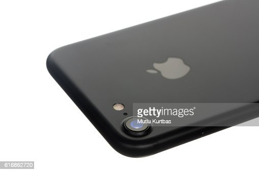 Apple iPhone 7 Black with Rear Camera : Stock Photo