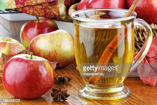 Apple Juice and Apples : Stock Photo