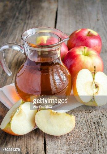 Apple juice : Stock Photo