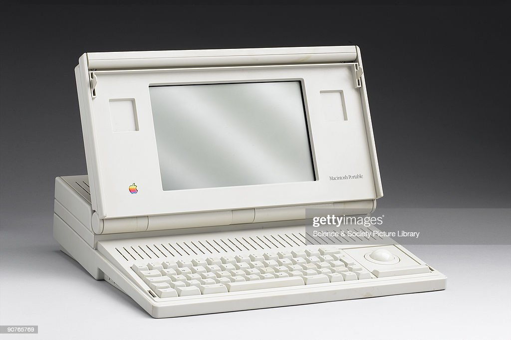 Apple Mac portable computer model M5126, made by Apple Computers Inc, USA. The Apple Macintosh was designed by Steve Jobs to be as 'user-friendly' as possible. Jobs wanted to produce an 'appliance computer' that clients could unpack, plug in and start to use with very little computer knowledge. It was also designed to use a graphical display rather than the standard text-based display previously used. The Mac was an instant success and continued to be popular as Jobs had ensured that plenty of computer software had been designed for use with the machine.