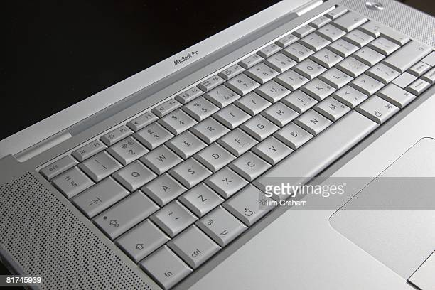 Apple MacBook Pro laptop computer keyboard London England United Kingdom