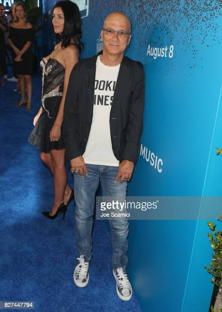 Apple Music executive Jimmy lovine at Apple Music Launch Party Carpool Karaoke The Series with James Corden on August 7 2017 in West Hollywood...