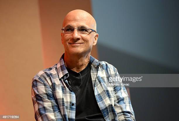 Apple Music's Jimmy Iovine speaks onstage during 'Dreamers and Streamers' at the Vanity Fair New Establishment Summit at Yerba Buena Center for the...