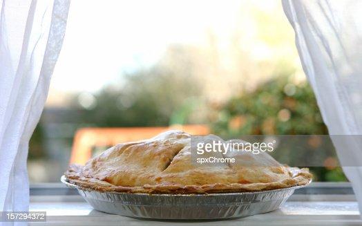 Apple Pie  - Cooling in Window