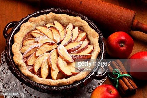 Apple pie : Bildbanksbilder