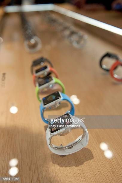 Apple Presents Apple Watch At Colette Paris on September 30 2014 in Paris France