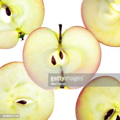 Apple Slices : Stock Photo