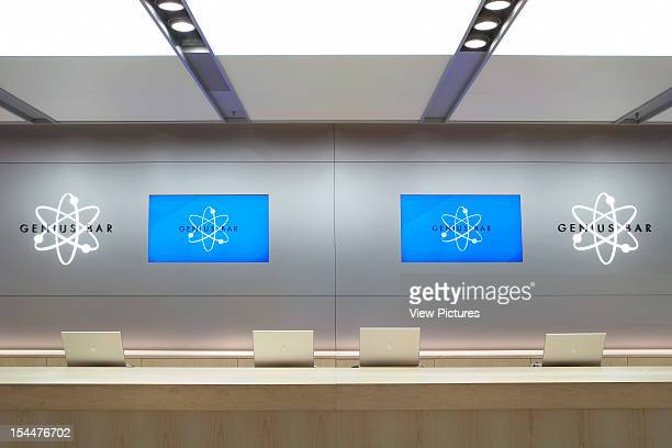 Apple Store London United Kingdom Architect Gensler Apple Store Genius Bar