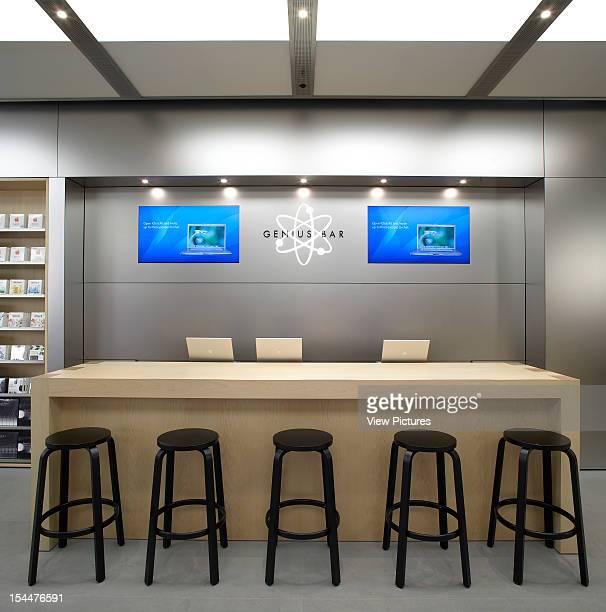 Apple Store Manchester United Kingdom Architect Gensler Apple Store Genius Bar